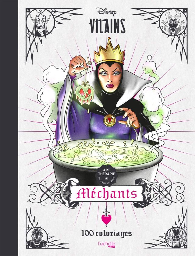 Art-thérapie Disney Méchants : Sousa, Tracy de: Amazon.fr: Livres