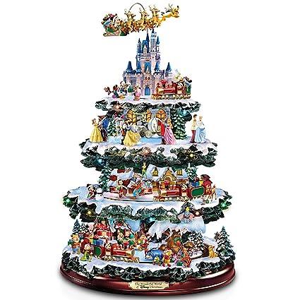 Bradford Exchange The Disney Tabletop Christmas Tree Wonderful World Of