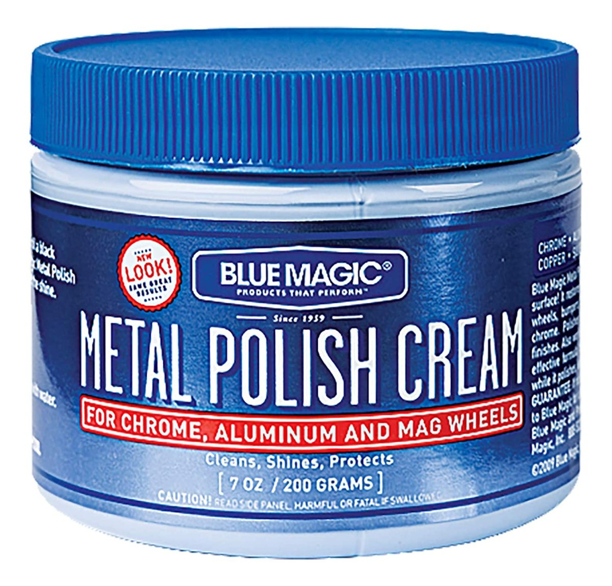 Best chrome polishes Blue Magic 400 Metal Polish Cream