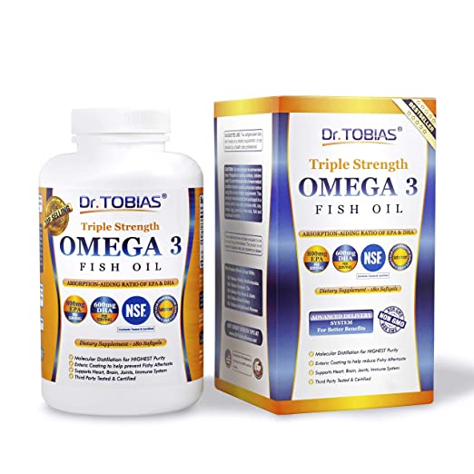 Dr. Tobias Omega 3 Fish Oil Triple Strength