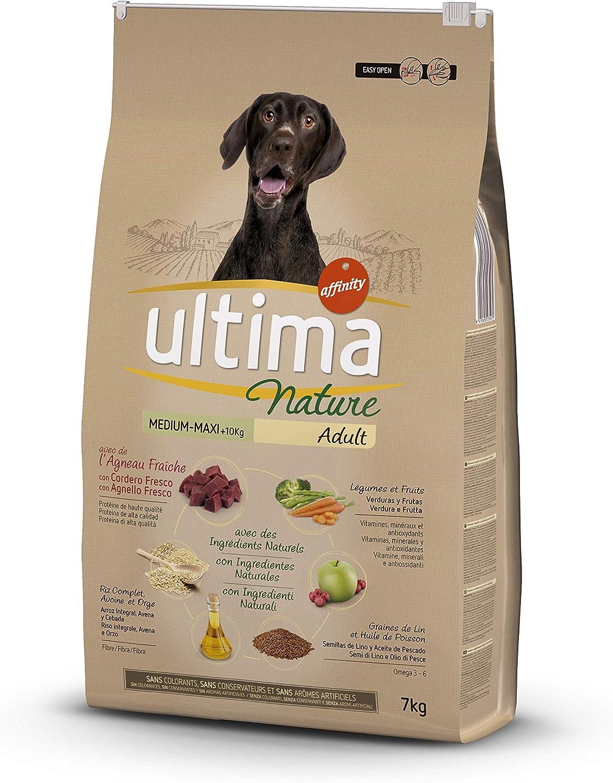 Ultima Nature Pienso para Perros Medium-Maxi con Cordero - 7 kg