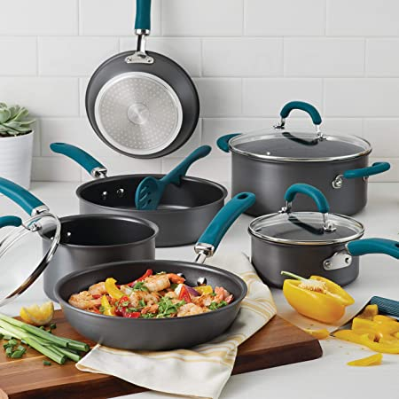 Rachael-Ray-81123-Create-Delicious-Hard-Anodized-Aluminum-Cookware-Set