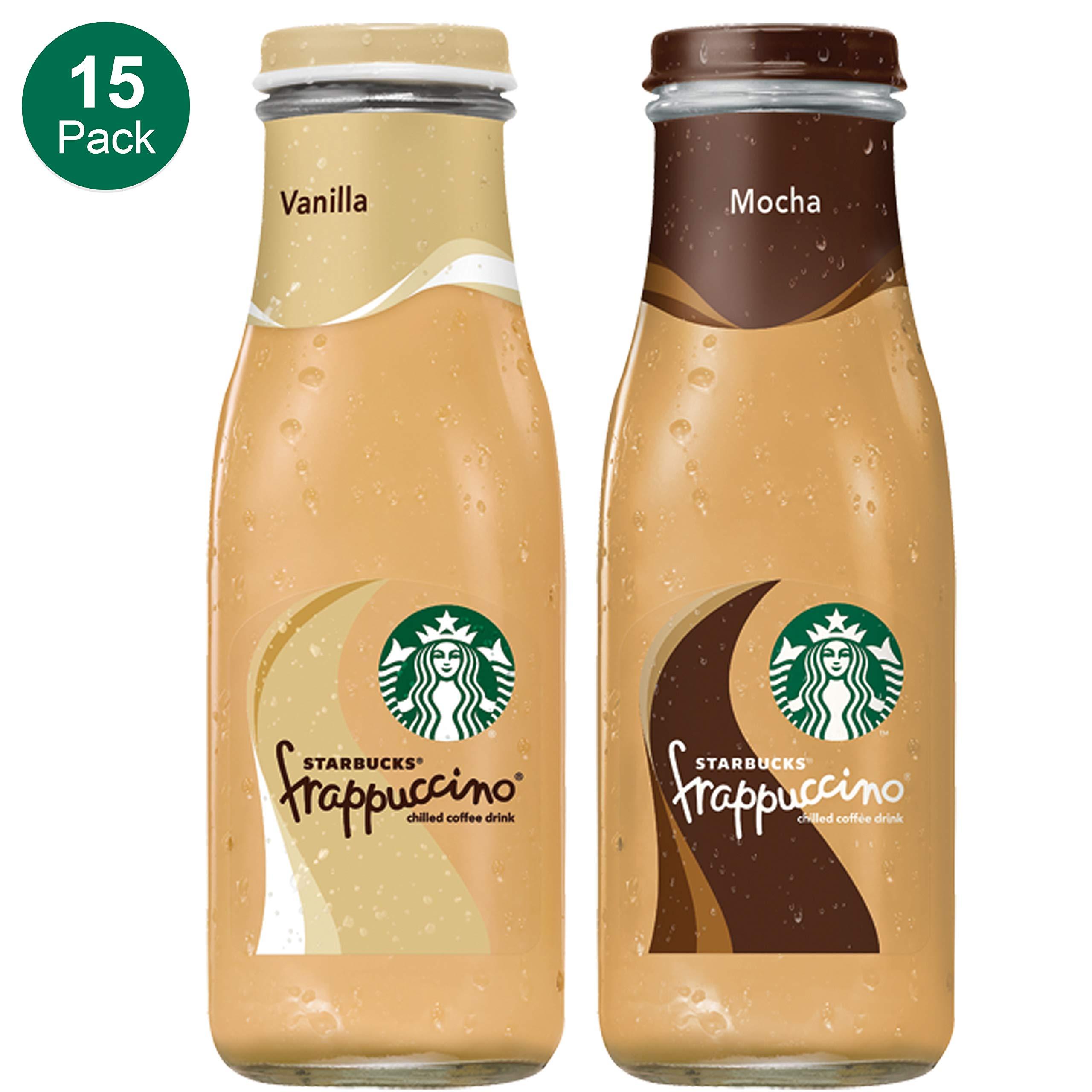Starbucks Frappuccino Vanilla Glass Bottles 9 5 Fl Oz