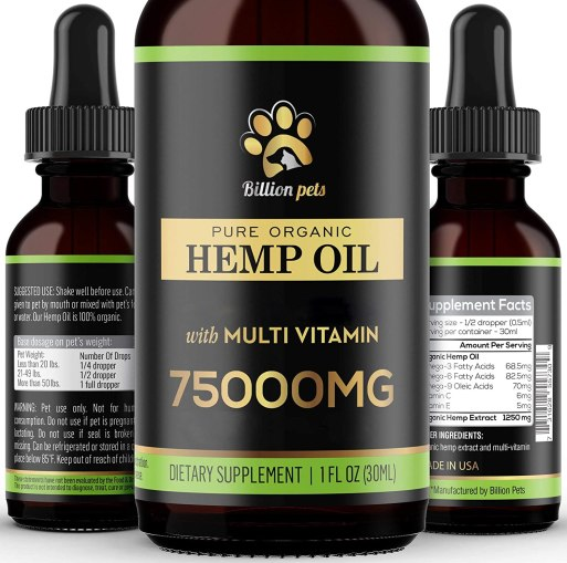 81CEKjZv%2BCL. AC SL1500 Best Hemp for dogs: Top 10 brands and buying guide