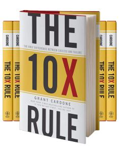 The 10X Rule: The Only Difference Between Success and Failure by Grant Cardone: Grant Cardone: Lanre News | LanreNews