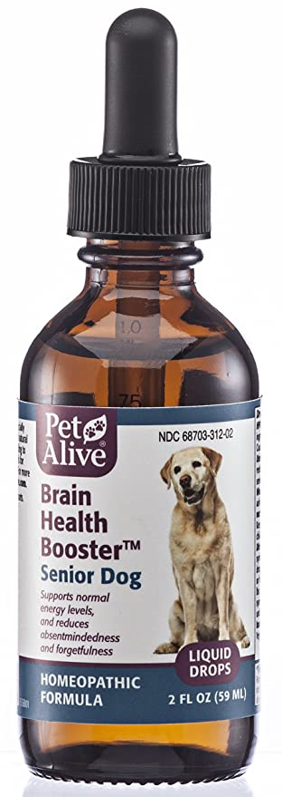 Homeopathic Formula for Dog Dementia