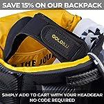 Gold BJJ Headgear for Jiu Jitsu, Wrestling, and MMA