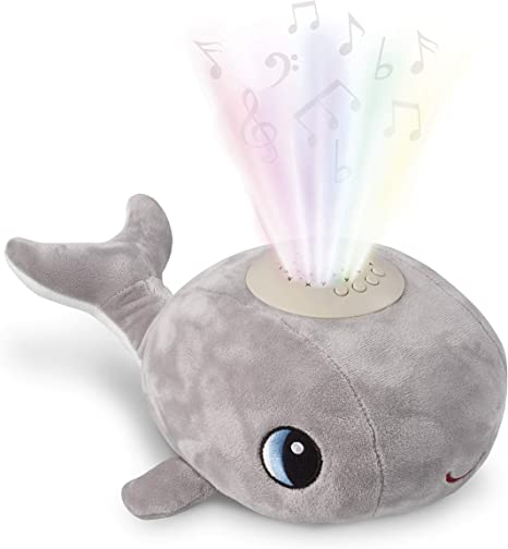 Musical Baby Night Light For Kids With Nursery Rhymes And Heartbeats This Adorable Whale Night Light Projector And Sound Machine Is A Shusher Soother And Sleep Aid Amazon Co Uk Baby