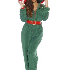 6851f623ad  followme Adult Christmas Onesie for Women Sherpa One-Piece Pajamas
