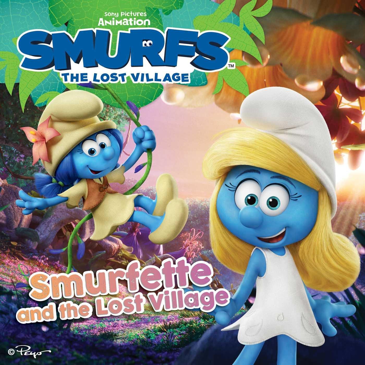 Smurfette And The Lost Village Smurfs Movie Pendergrass Daphne Dalena Antonello Maddaleni Paolo 9781481480550 Amazon Com Books