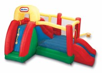 Little Tikes Double Fun Slide 'n Bounce Bouncer
