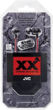 Earphone Bass JVC HAFX1X Headphone Xtreme-Xplosivs