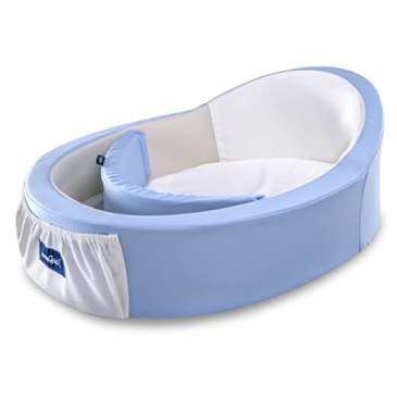 Mumbelli - The only Womb-Like and Adjustable Infant Bed. Patented Design, Safety Tested, Reflux Wedge Included. Great for Travel, co Sleeping and Crib Insert.