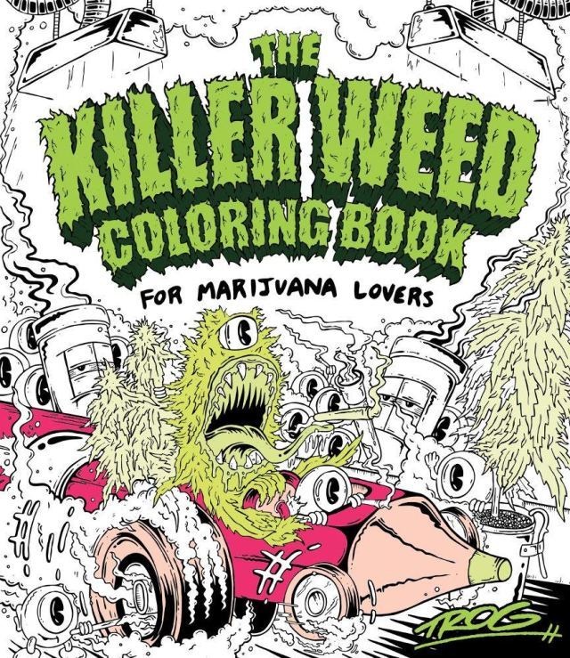 Amazon.com: The Killer Weed Coloring Book: For Marijuana Lovers