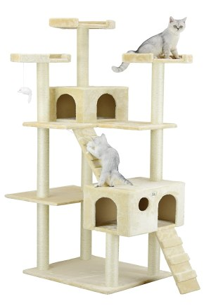 GoPetClub 72-in Cat Tree Black Friday Deal 2019