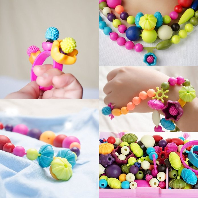 Pop Beads Kids Arty Toy Creative DIY