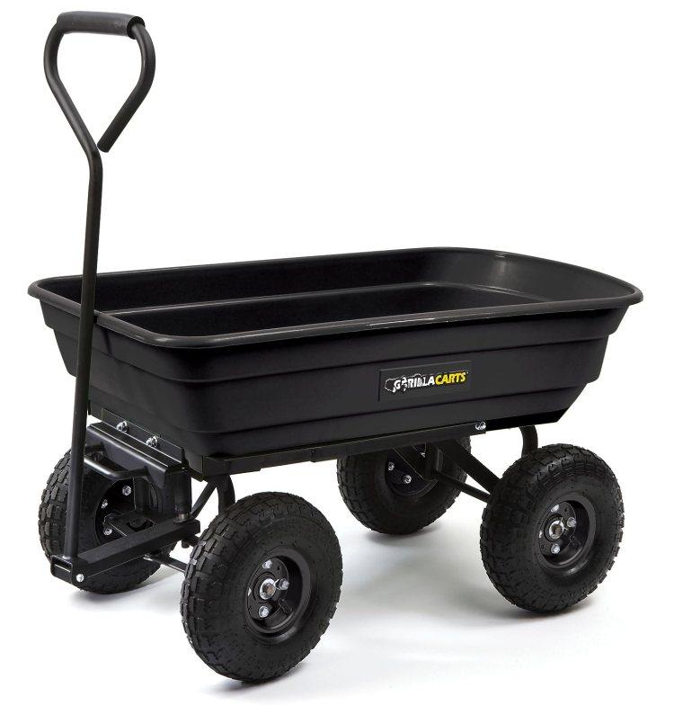 Gorilla Carts 600 Pounds