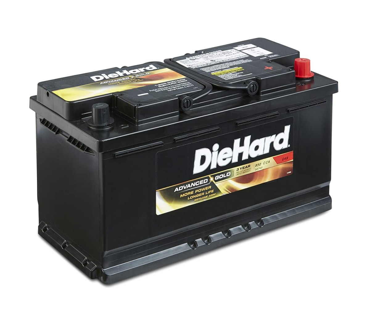 Best Car Batteries DieHard 50748 Group 48 lead_acid_battery