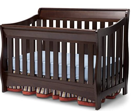 #9 - Delta Children Bentley S Series 4-in-1 Convertible Crib
