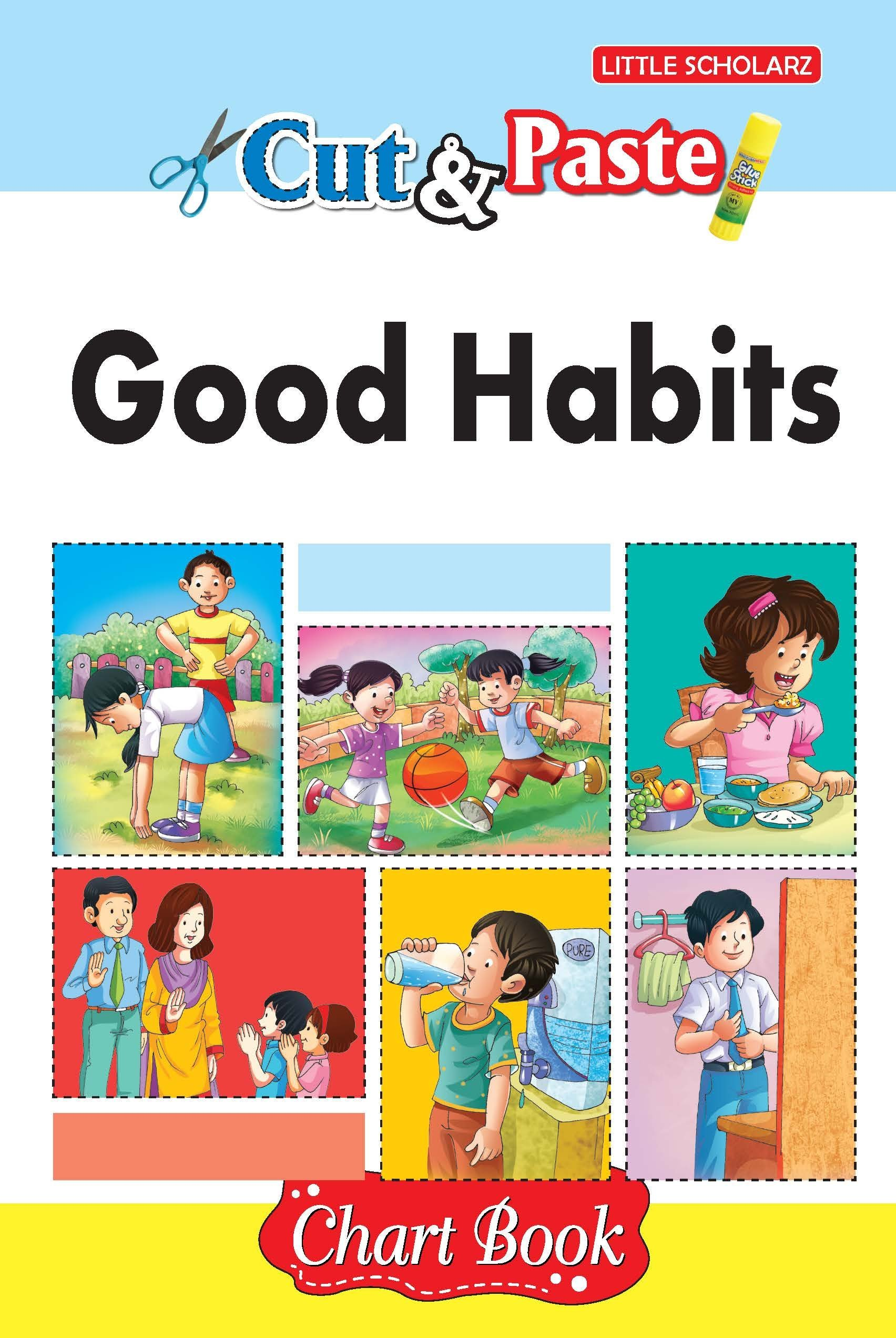 Amazon In Buy Cut Paste Good Habits Chart Book Book Online At Low Prices In India Cut Paste Good Habits Chart Book Reviews Ratings