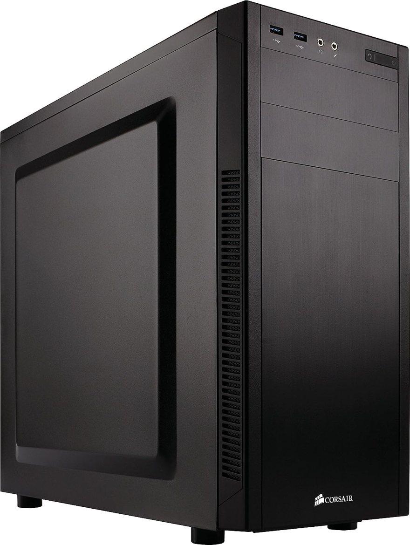 Corsair Carbide Series 100R Silent Edition - Caja de ordenador silenciosa para PC Mid-Tower ATX, negro (CC-9011077-WW)