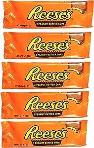 (5x51g) Hershey's Reese's 3 peanut butter cup al La