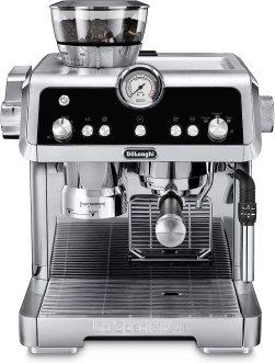 Una de las máquinas de espresso para hogar con molino incorporado, La Specialista de la DeLonghi