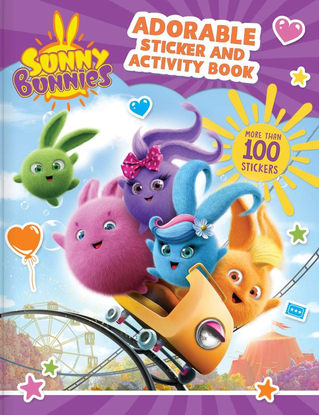 Amazon.com: Sunny Bunnies: Adorable Sticker and Activity Book