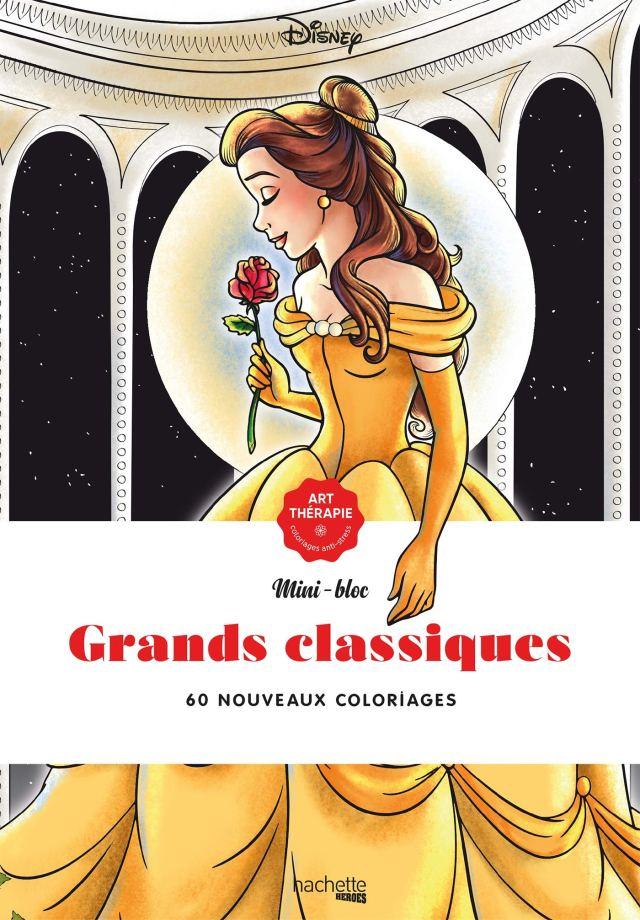 Les mini-blocs Disney Grands classiques: 18 nouveaux coloriages