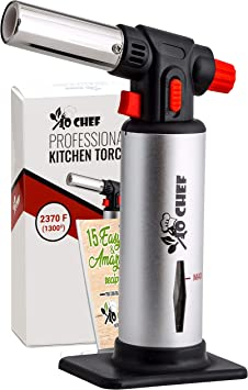 Kitchen Torch with Butane Included