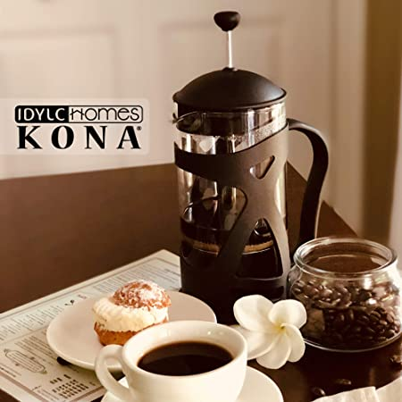 Idylc-Homes-KONA-French-Press-Coffee-Maker-Review