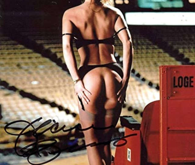 Jeanie Buss Signed Photograph Lakers Playboy Sexy X Bas