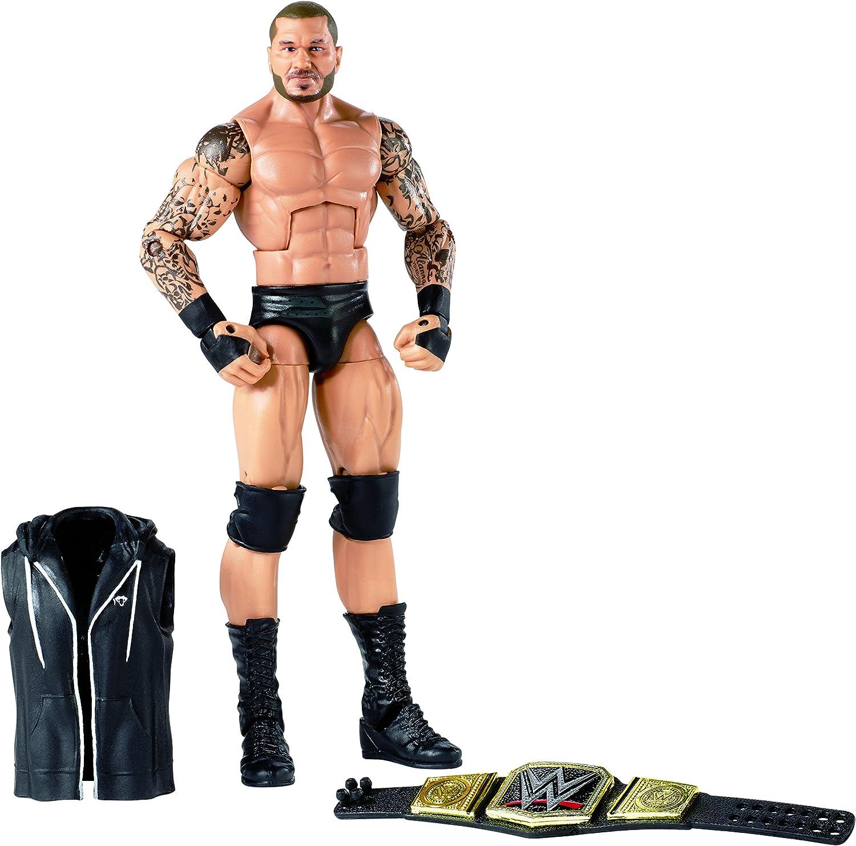 Amazon Com Wwe Wrestlemania Randy Orton Elite Action Figure Toys Games