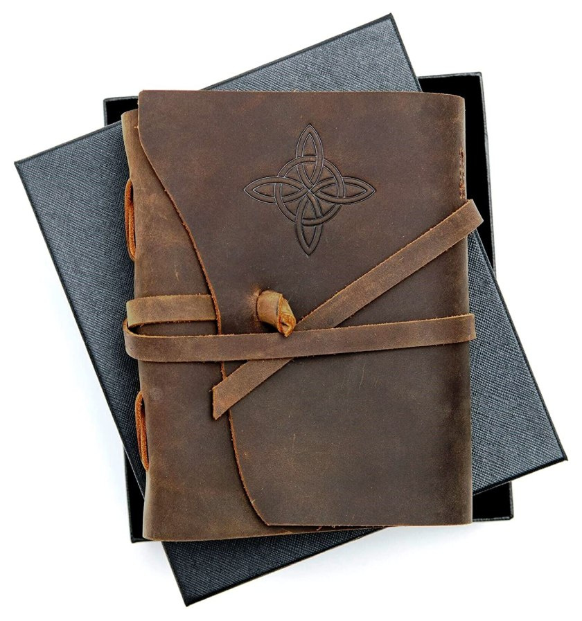 Leather Bound Traveler's Journal