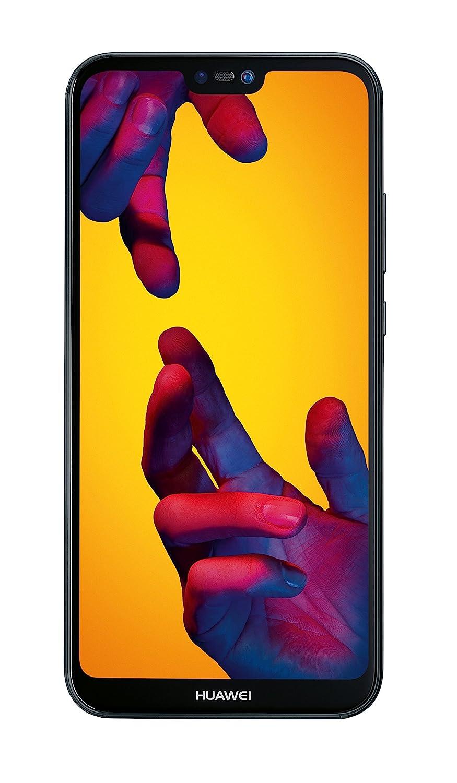 Huawei P20 Lite Smartphone débloqué 4G (5,84 pouces - 64 Go/4 Go - Double Nano-SIM - Android) Noir [Version européenne]