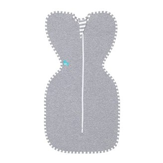 Love To Dream Swaddle UP Original 1.0 TOG, Gray, Medium, 13-18.5 lbs.