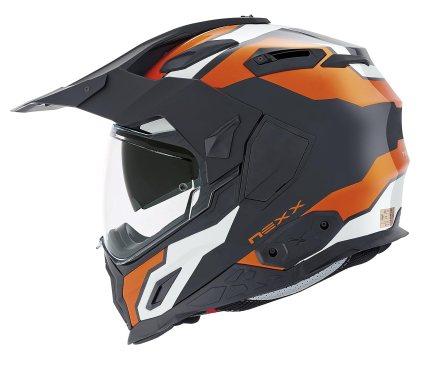 NEXX X.D1 Baja Orange Motorcycle Helmet