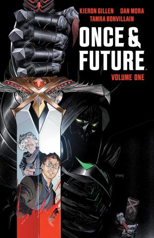 Amazon.com: Once & Future Vol. 1 (9781684154913): Gillen, Kieron,  Bonvillain, Tamra, Mora, Dan: Books