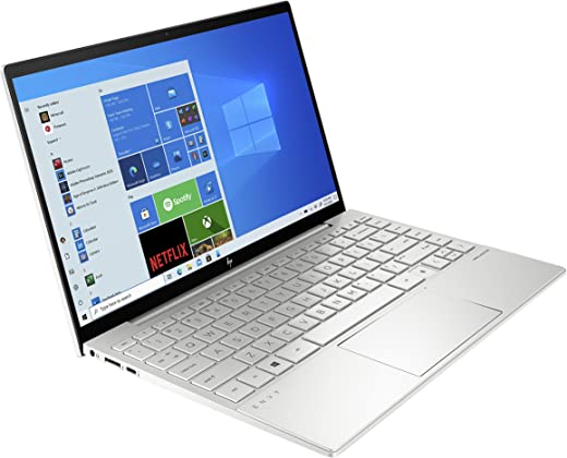 HP Envy 13-ba0010na 13.3-Inch Full HD Touch-screen Laptop (Natural Silver) (Intel Core i7-10510U, 16 GB RAM, 1 TB SSD, NVIDIA GeForce GTX 1650 4 GB Dedicated Graphics, Windows 10 Home)