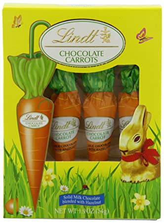 Lindt Chocolate Carrots
