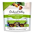 ORCHARD VALLEY HARVEST Cranberry Almond Cashew Trail Mix,  1 oz (Pack of 8), Non-GMO, No Artificial Ingredients