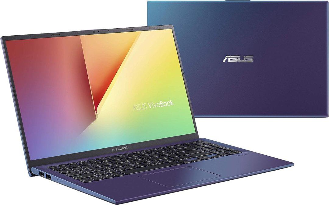 "Asus VivoBook S S512UA-EJ641T PC Portable 15"" FHD (Intel Core i3-7020U, RAM 8Go, HDD1 1TB 54R + 128Go SSD, Windows 10) Clavier AZERTY Français"