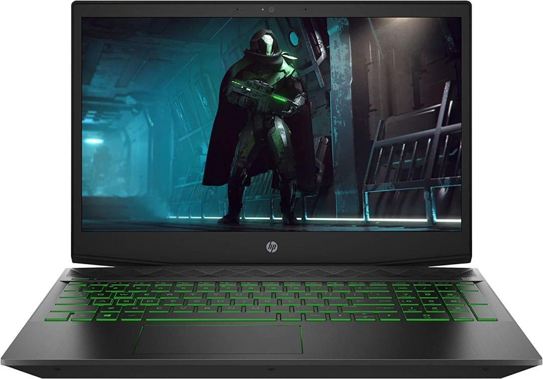"HP Pavilion Gaming 15-cx0023nf PC Portable Gaming 15,6"" FHD IPS Noir (Intel Core i5, RAM 8 Go, 1 To + SSD 128 Go, NVIDIA GeForce GTX 1050, AZERTY, Windows 10)"