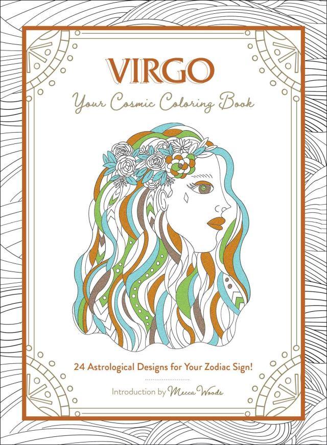Amazon.com: Virgo: Your Cosmic Coloring Book: 29 Astrological