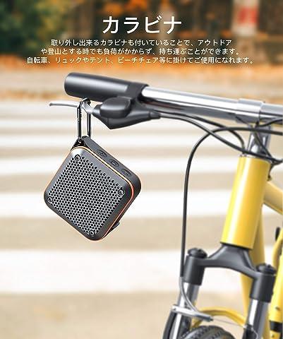 Bluetoothスピーカー ポータブルミニ ワイヤレス Bluetooth スピーカー IPX7防水防塵 耐衝撃、ラジオ機能、大音量、TWS対応/車載、風呂用、アウトドア/マイク内蔵、AUXケープルポート、USB充電、TFカード、ハイパワー