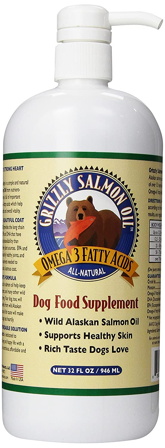 Grizzly Salmon Oil for Dogs