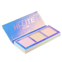 Lime Crime Hi-Lite Opals Palette. Iridescent Powder Trio- Highlighter Makeup for All Skintones.