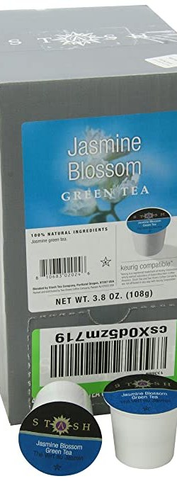 Stash Jasmine Blossom 40 count box of Single Serve Tea