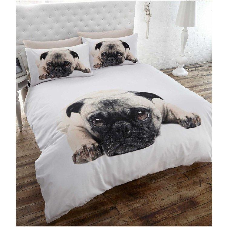 Pug Dog Comforter Set