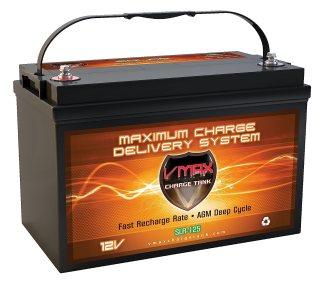 Vmaxtanks Vmaxslr125 AGM Deep Cycle 12v 125ah